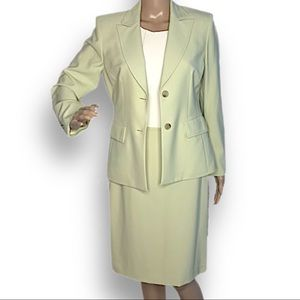 NWT Kasper single breasted skirt suit 2-piece 4P